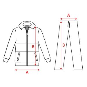 Medidas en cm. para calcular tu talla en la descripción del artículo df7a3034c9d26